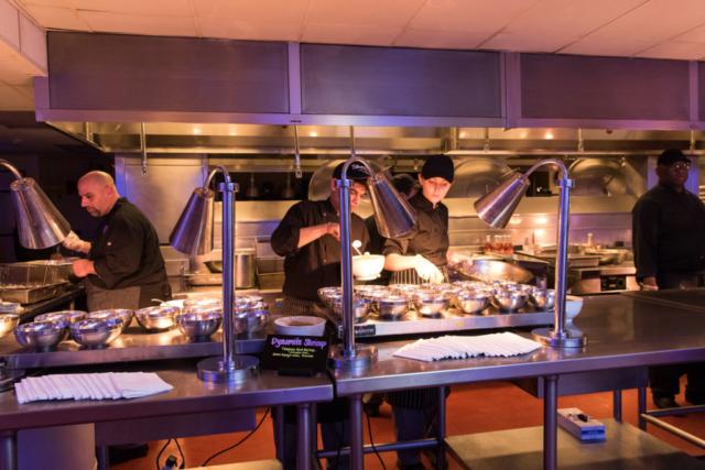 Kitchen at Wedding