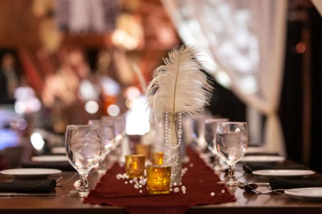 Monarch Apothecary Table Decor